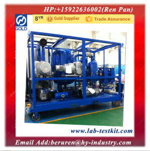 Dielectric Oil Purification Equipment pictures & photos