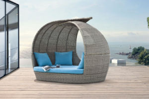 Outdoor Furniture Rattan Furniture Daybed-1 pictures & photos