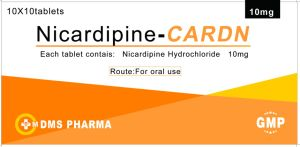 Manufacturer Nicardipine Hydrochloride Tablets 10mg pictures & photos
