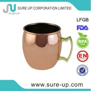 Single Wall 304 Cocktail Copper Mug (MSBG) pictures & photos