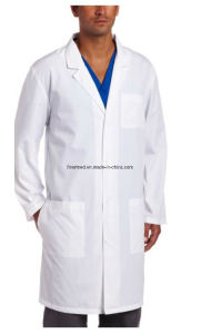 Autoclavable Washable Reusable Cotton Medical Lab Doctor Coat pictures & photos