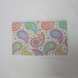 Bamboo Fiber Breakfast Plank Cutting Board Paisley Design Kitchenware pictures & photos