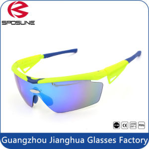 Flexible Tr90 UV400 Iridium Lens Sports Running Eyeglasses pictures & photos
