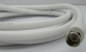 TV Cable, White Color, Custom Length pictures & photos