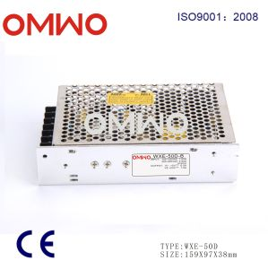 Omwo Wxe-50d-a Dual Output Switching Power Supply 50W pictures & photos