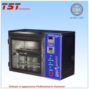 ISO3795 Auto Interior Material Horizontal Flammability Tester -Flame Resistance Tester pictures & photos