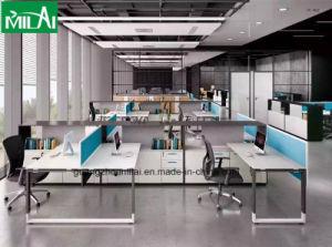 New Elegant Partition Table Office Furniture U Shape Desk Leg pictures & photos