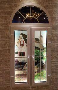 Soundproof PVC/UPVC Arch Casement Window (BHP-CWA17) pictures & photos