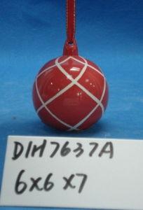 Christmas Tree Decorative Round Ceramic Ball pictures & photos