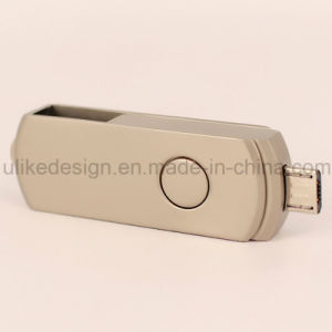 Wholesale Classic Swivel OTG USB Flash Drive (UL-OTG006) pictures & photos