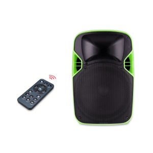 Supplier Plastic Active PA Speaker with Projector and Projection Screen pictures & photos