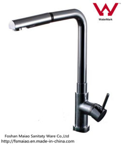 Watermark Approved New Products Round Brass Pull-out Kitchen Tap (130024) pictures & photos