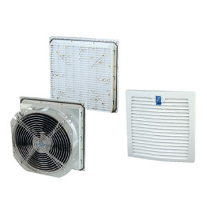 Industrial Axial Metal Cabinet Ventilation Fan Filter (LK9806) pictures & photos