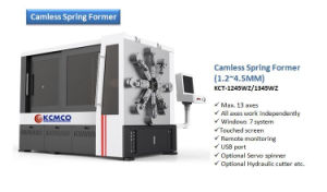 Kct-1245wz 4.5mm 12 Axis Camless CNC Versatile Spring Rotating Forming Machine&Extension/Flat Wire Spring/Scall/Spring Making Machine pictures & photos