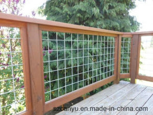 Stainless Steel Balcony Tension Wire Railing or Cable Wire Fence pictures & photos