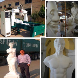 3D Foam Figures Making Machine / 4 Axis 3D CNC Milling Machine pictures & photos