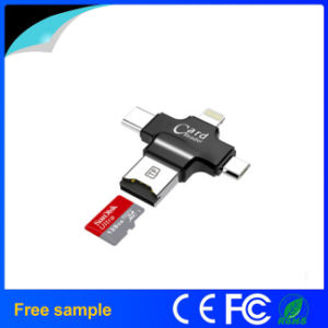 Factory Price 4 in 1 Type-C OTG USB Card Reader pictures & photos