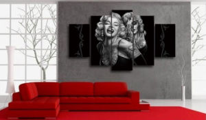 HD Printed Marilyn Smile Now Painting on Canvas Room Decoration Print Poster Picture Canvas Mc-012 pictures & photos
