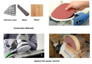 Fibre Disc Abrasive Tools Hook & Loop Sanding Disc (HSPA) pictures & photos