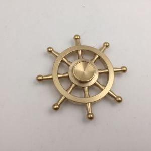 Pirate Rudder Toys Pure Copper Hand Spinner Metal Fidget Spinner pictures & photos