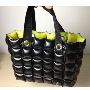 Yellow Black Color PVC Inflatable Bubble Beach Pillow Shopping Bag pictures & photos