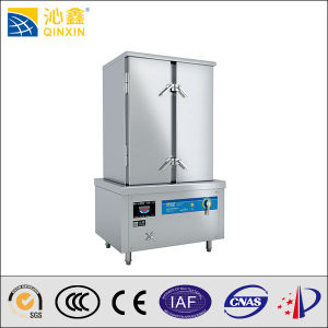380V Big Capacity Commercial Kitchen Electromagnetic Rice Steamer pictures & photos