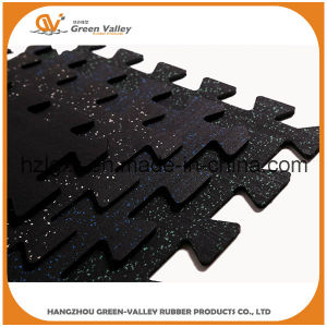 Anti-Shock 50X50cm Interlocking Rubber Mats for Gym pictures & photos