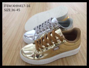 Latest Design Injection Skate Shoes Leisure Shoes (XHH417-16) pictures & photos