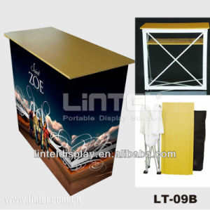 Folding Aluminum Pop up Promotion Table pictures & photos