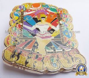 Gold Palted Zinc Die Cast Soft Enamel Epoxy Badge pictures & photos