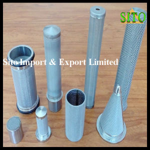 Water Filtration Stainless Steel Wire Mesh Filter Cartridge pictures & photos