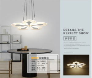 Acrylic Flower LED Ceiling Light New Modern Lighting Guarantee 100%