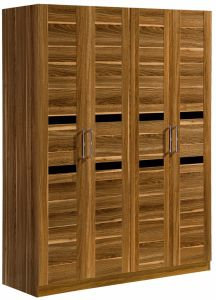 Hot Selling Four Doors Wardrobe Bedroom Wardrobe pictures & photos