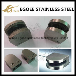 Z-Series Round Type Flat Base Stainless Steel Glass Clamp for 10mm Glass pictures & photos