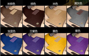 Car Carpet Flat Foot PP Fiber Mat in Roll pictures & photos