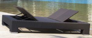 Garden Wicker/Rattan Chaise Lounge for Outdoor Furniture (LN-104) pictures & photos