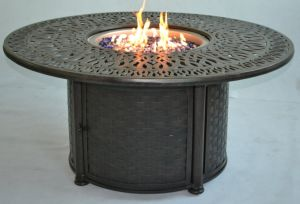 Propan and Nature Gas Fire Pit Bar Patio Furniture Set pictures & photos