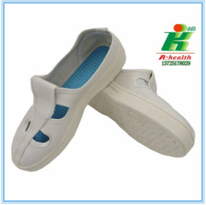 """Linkworld""Antistatic 4-Eyes Butterfly Working Shoe for Worker in Cleanroom pictures & photos"
