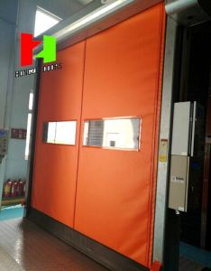 China Manufacturer Quick Roll up Doors Auto Recovery Rapid Roll Door (Hz-FC070) pictures & photos