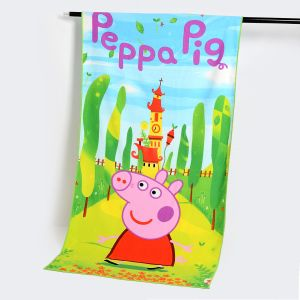 Cartoon Design Mircofiber Beach Towel with Reactive Printing, Cotton Towel pictures & photos
