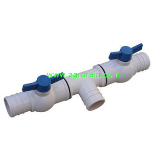 PVC 2-Outlet Offtake Valve for Agriculture Spraying Hose Dia 50 pictures & photos