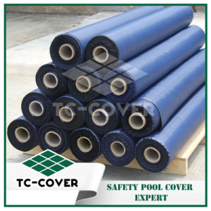 Swimming Pool Cover Material--PP Roll Mesh pictures & photos