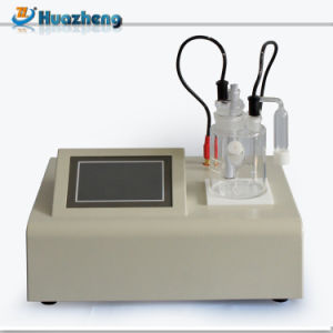Hzws-2 Automatic Karl Fischer Moisture Titrator Transformer Oil Water Content Tester pictures & photos