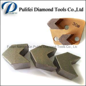 Wet Dry Grinding Floors Arrow Segment Tools Diamond Grinding Segment