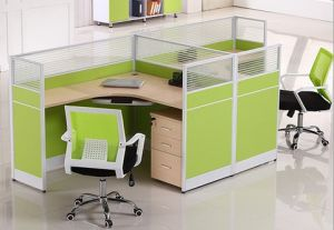2016 Modern Office Table Wooden Office Furniture Workstation (HX-NCD338) pictures & photos