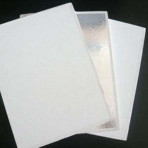 Qualified PVC Faced Gypsum Ceiling Tiles (595*595*7mm) pictures & photos