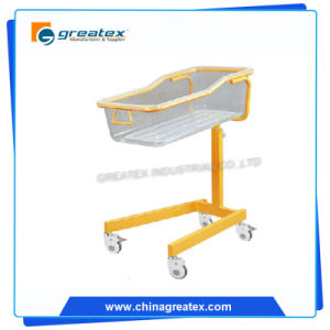 Height Adjustable Hospital ABS Plastic Modern Design Plastic New Born Baby Crib (GT-BB3308)