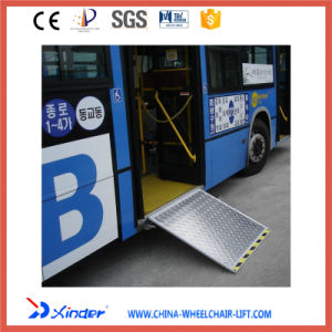 Electric Wheelchair Ramp, Electric Aluminum Ramp Passed EMC Test pictures & photos
