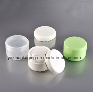 100g PP Single Wall Plastic Jar for Hair Care Cream Portable pictures & photos