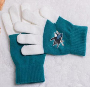 Winter Touch Screen Knitting Gloves with Print Logo pictures & photos